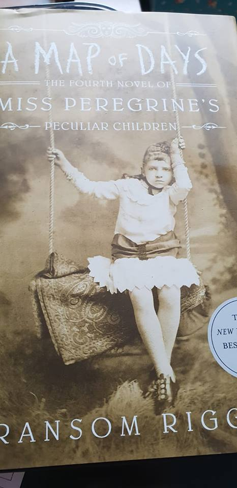 A Map Of Days by Ransom Riggs, the fourth book in the Miss Peregrin series