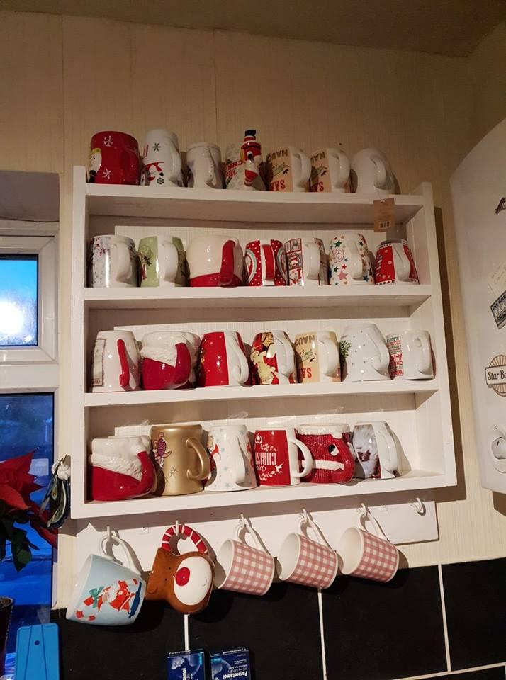 Christmas mug collection