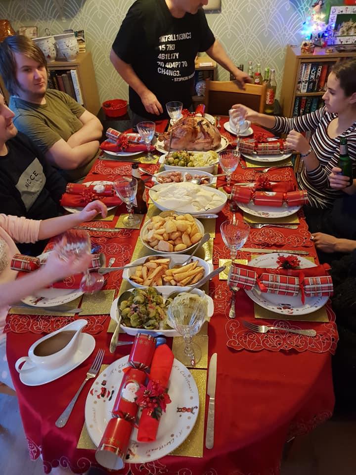 Christmas day photos 2018 - Christmas dinner
