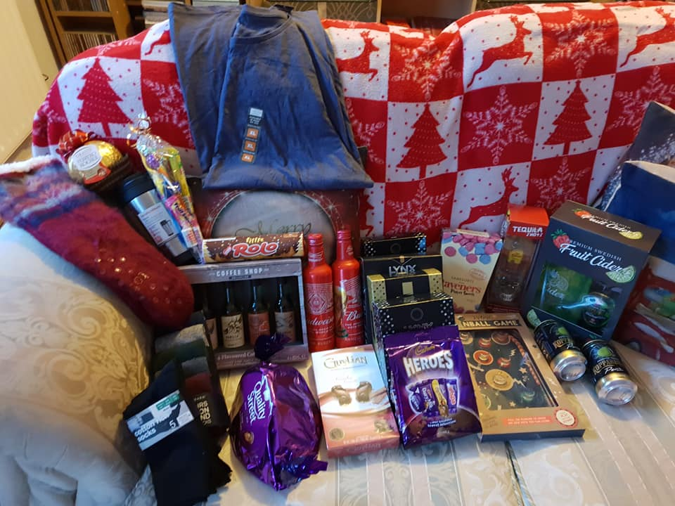 Christmas day photos 2018 - Aiden's gifts