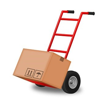 trolley for moving boxes