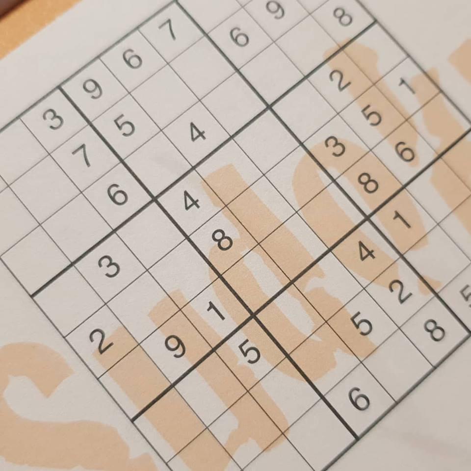 February 2019 1 day 12 pics - Sudoku