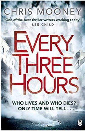 Every three hours by Chris Mooney book cover