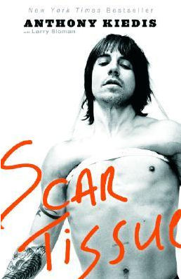 Scar Tissue by Anthony Kiedis book cover