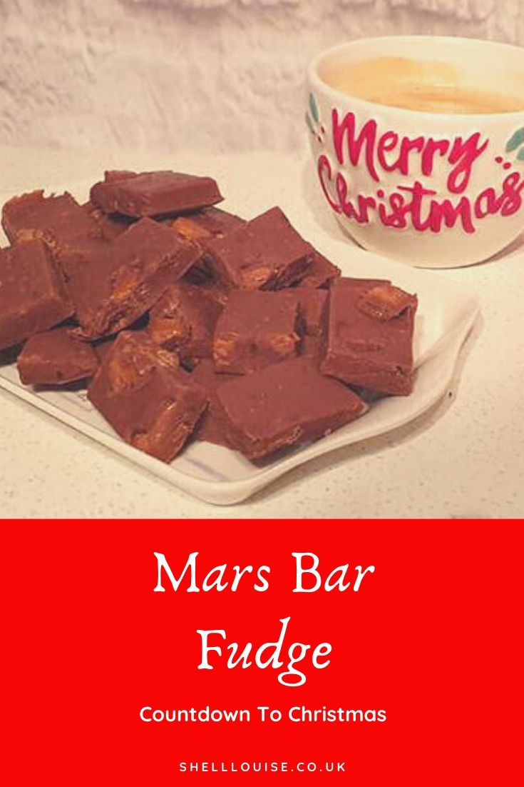 Mars bar fudge header