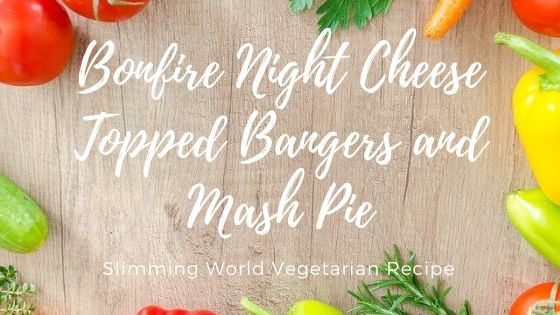cheese topped bangers and mash pie slimming world recipe